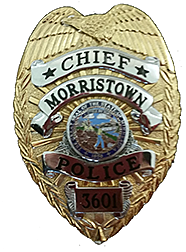 Morristown Police Badge- from City website