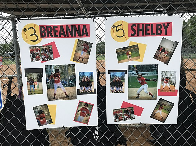 Bethlehem Academy Senior Salute Posters- photo by Gordy Kosfeld