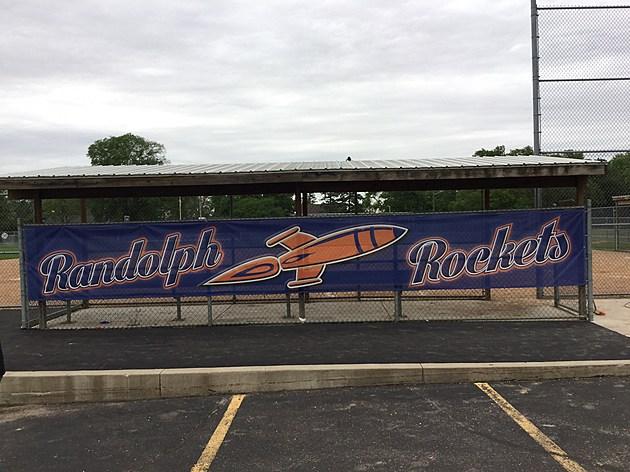 Randolph Softball Dugout- photo by Gordy Kosfeld