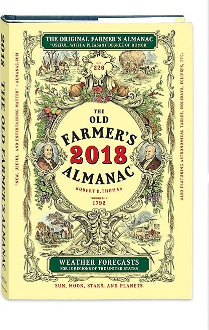 2018 almanac