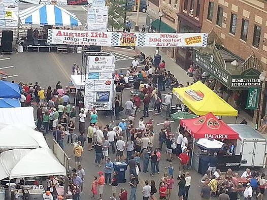 Blue Collar BBQ & Arts Festival Scene.  picture provided by organizers