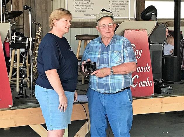 2017 Goodhue County Fair Male Senior Volunteer of Year Jim Foss. Photo by Gordy Kosfeld