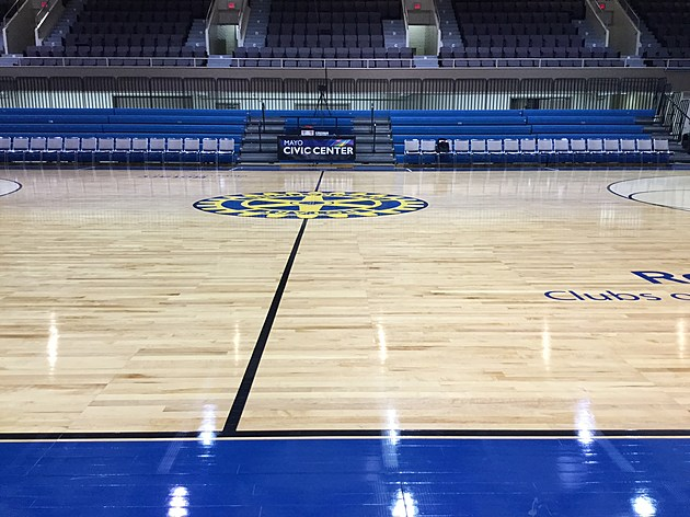 Gordy Broadcast Many Games From Rochester Mayo Civic Auditorium.  Photo by Gordy Kosfeld March 3, 2017