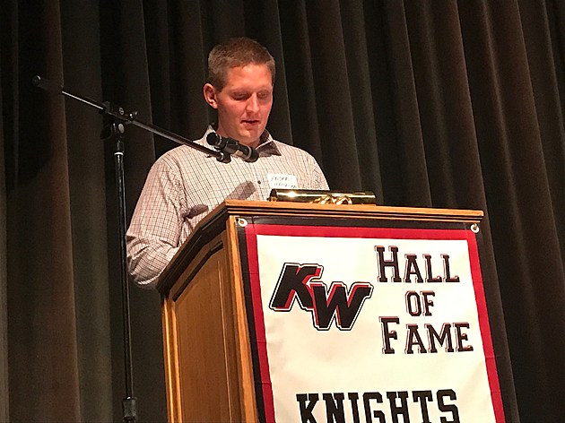 Anders Haugen brother of Mikkel Haugen KHS Hall of Fame inductee.  Photo by Gordy Kosfeld
