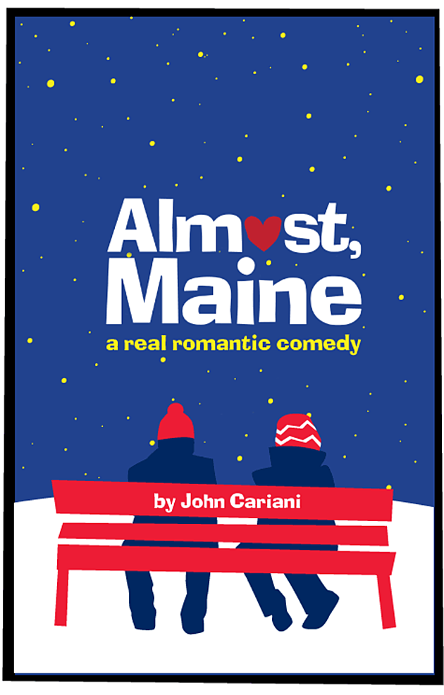 "FHS Fall Play Poster ""Almost Maine"" provided by FHS Theatre"