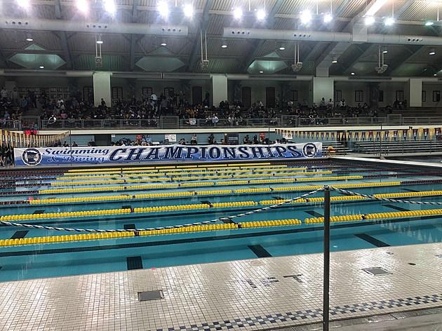 University of Minnesota Aquatic Center Pool. Photo by Gordy Kosfeld November 16, 2017
