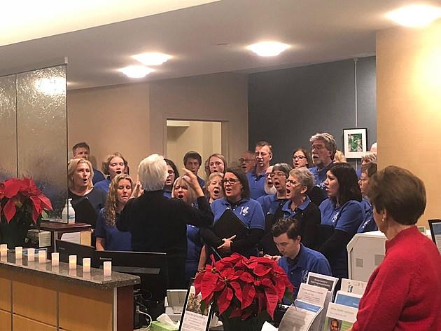 Beau Chant Choir.  Photo by Gordy Kosfeld