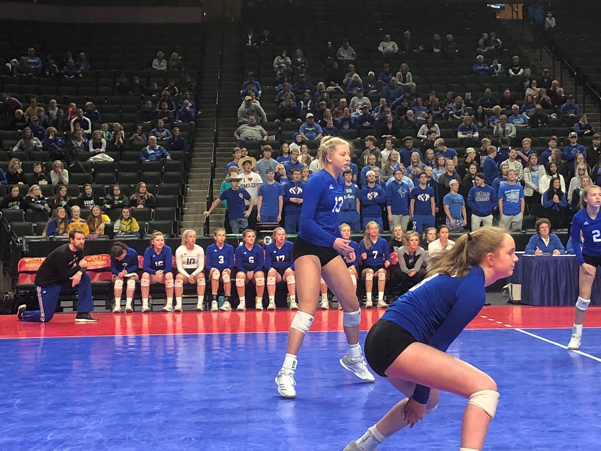 Kasson-Mantorville Volleyball Looks Focused in State Opener | The Rock of Rochester